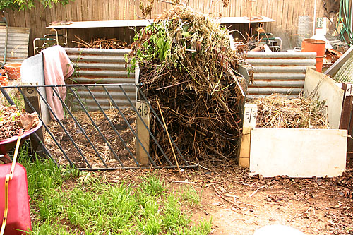 compost piles