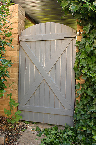Superbe Gate 1 U2013 Entry Gate To Garden, Hinges Moved From Original Side, Hence The