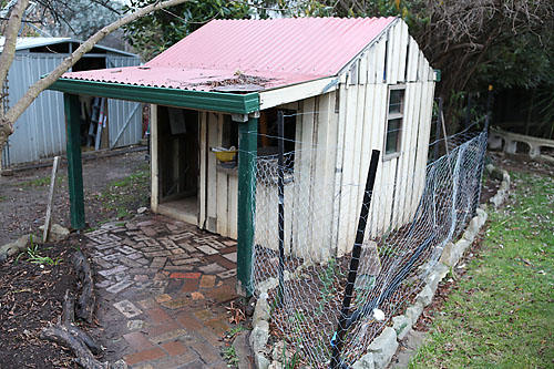 chicken coop from cubby